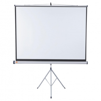 Projekční plátno se stativem Nobo - 170 x 132,5 cm,...