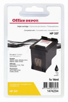 Cartridge Office Depot HP C9364EE/337 - černá