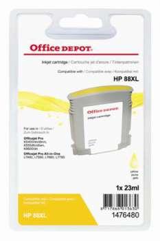 Cartridge Office Depot HP C9393AE/88 - žlutá
