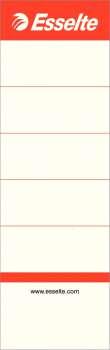 Zasouvací etikety pro pákové pořadače Esselte, 7,5 cm, 10 ks