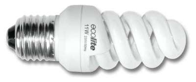 Úsporná žárovka 9W/E27