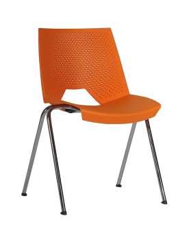 Konferenční židle Strike - oranžová