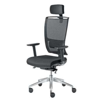 Kancelářská židle Lyra Net B synchro - černá