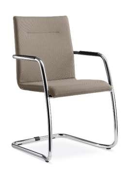 Konferenční židle Stream - mocca