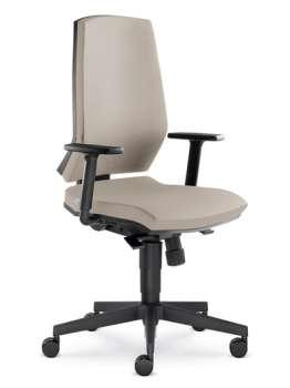 Kancelářská židle Stream synchro - mocca