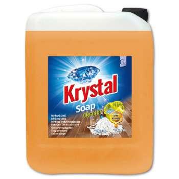 Přípravek mýdlový na mytí dřevěných povrchů - Krystal, 5 l