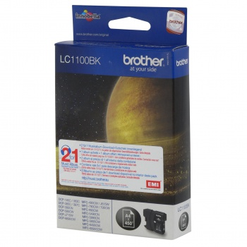 Cartridge Brother LC1100 BK - černá