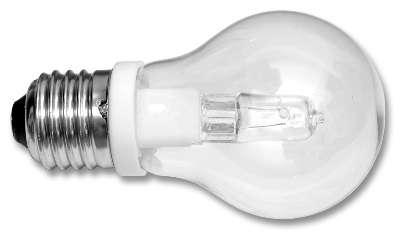 Žárovka halogenová E27/G9-75W