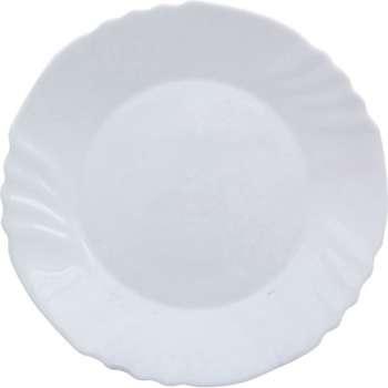 Talíř - skleněný, dezertní, 6 x 20 cm