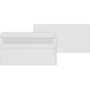 Obálky Office Depot - DL, samolepicí, bílé, 50 ks
