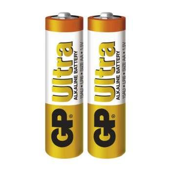 Baterie GP Ultra Alkaline 1,5V, R6, typ AA, 2 ks