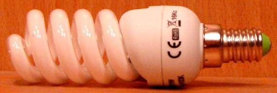 Úsporná žárovka 11W/E14