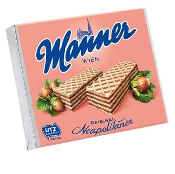 Sušenky Manner - lískooříškové, 75 g
