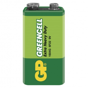 Baterie GP Greencell 9V, 1 ks