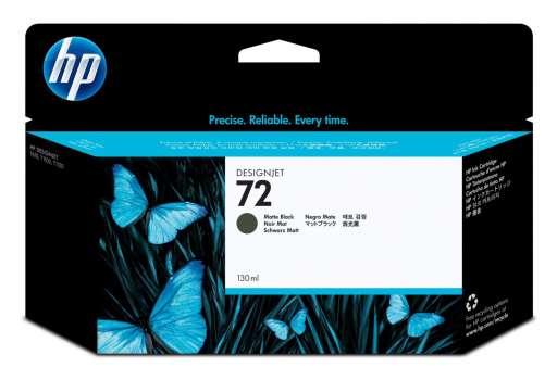 Cartridge HP C9403A/72 - matná černá