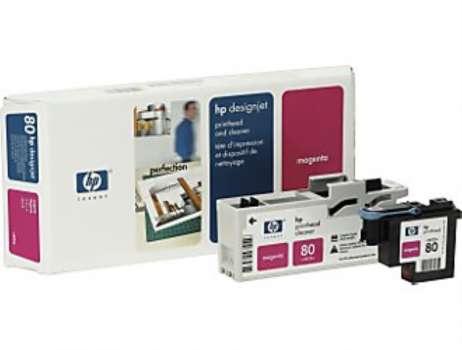 Tisková hlava a čistič tiskové hlavy HP C4822A/80 - purpurová