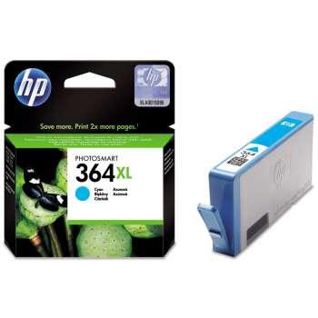 Cartridge HP CB323EE/364XL - azurová