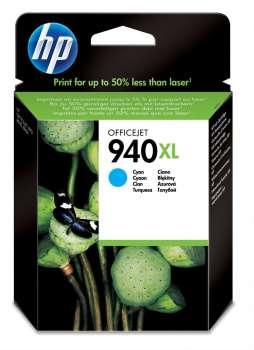 Cartridge HP C4907AE/940XL - azurová