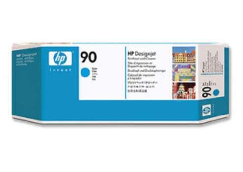 Tisková hlava a čistič tiskové hlavy HP C5055A/90 - azurová