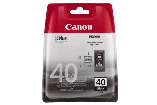 Cartridge a tisková hlava Canon PG-40 - černá