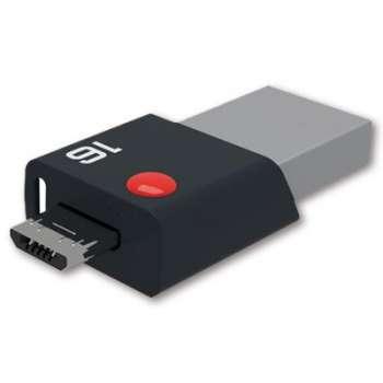 USB Flash disk Emtec Click Dual 3.0 - 16 GB