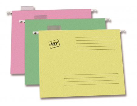 Závěsné papírové desky A4, zelené, 25 ks