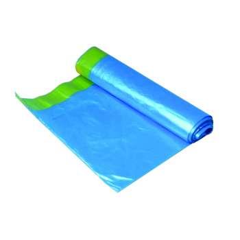 Pytle na odpadky se zatahovací páskou - 60 l, 10 ks, 14 mic