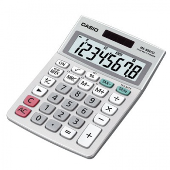 Stolní kalkulačka Casio MS-88ECO