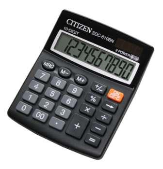 Stolní kalkulačka Citizen SDC-810BN