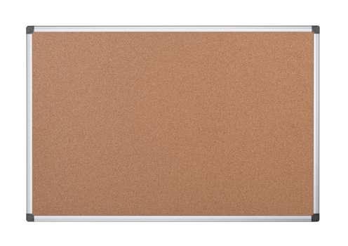 Korková nástěnka Office Depot - 90 x 60 cm, hnědá, hliníkový rám