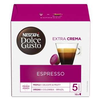 Kapsle Nescafé Dolce Gusto - Espresso, 16 ks