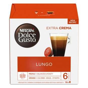 Kapsle Nescafé Dolce Gusto - Caffé Lungo, 16 ks