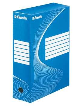 Krabice archivační Esselte, 10 cm, modrá