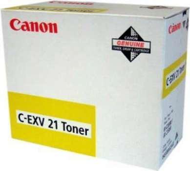 Kazeta tonerová Canon C-EXV21, žlutá