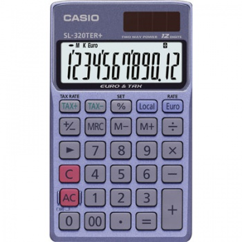 Kapesní kalkulačka Casio SL-320TER+