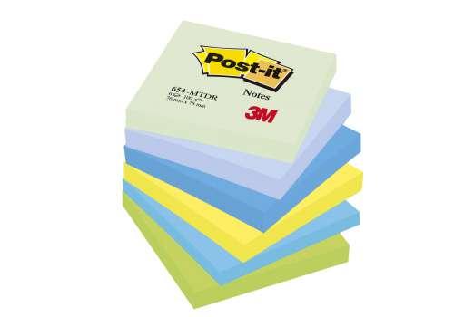 Bloček Post-it barevný 76x76 mm, sny