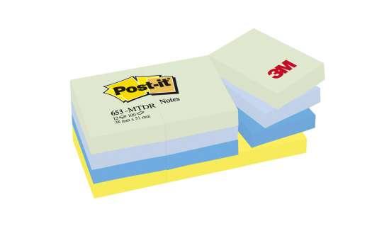 Bloček Post-it barevný 38x51 mm, sny