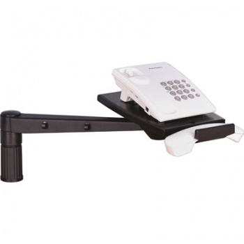 Držák telefonu s dlouhým ramenem - černý