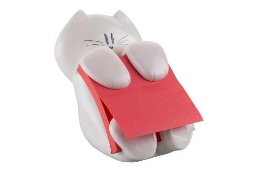 Zásobník na Z-bločky Post-it - bílá kočka