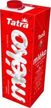 Mléko trvanlivé Tatra Swift 3,5 % plnotučné 1 l