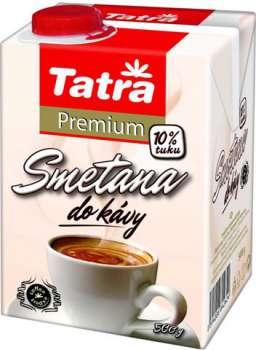 Smetana do kávy 10% Tatra Premium, 500g