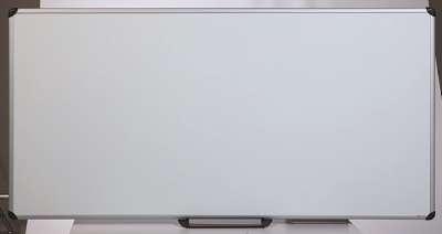 Lakovaná magnetická tabule - 180 x 90 cm