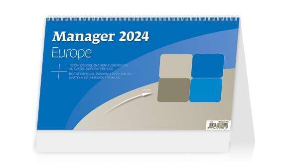 Stolní kalendář 2017 Manager Europe