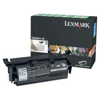 Toner Lexmark T650H11E - černý