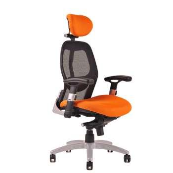 Kancelářská židle Saturn synchro - oranžová