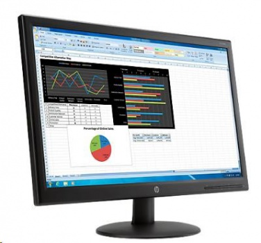 "23,6"" monitor HP V241p LED Backlit"
