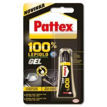 Univerzální lepidlo 100% Pattex - gel, 8 g