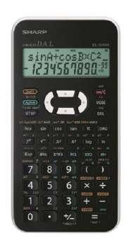 Vědecká kalkulačka Sharp EL-W531XH - bílá