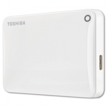 "Harddisk Toshiba Canvio Connect 2.5"" - 1 TB, bílý"