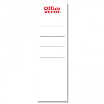 Etikety pro plastové pákové pořadače Office Depot - 8,0 cm,...